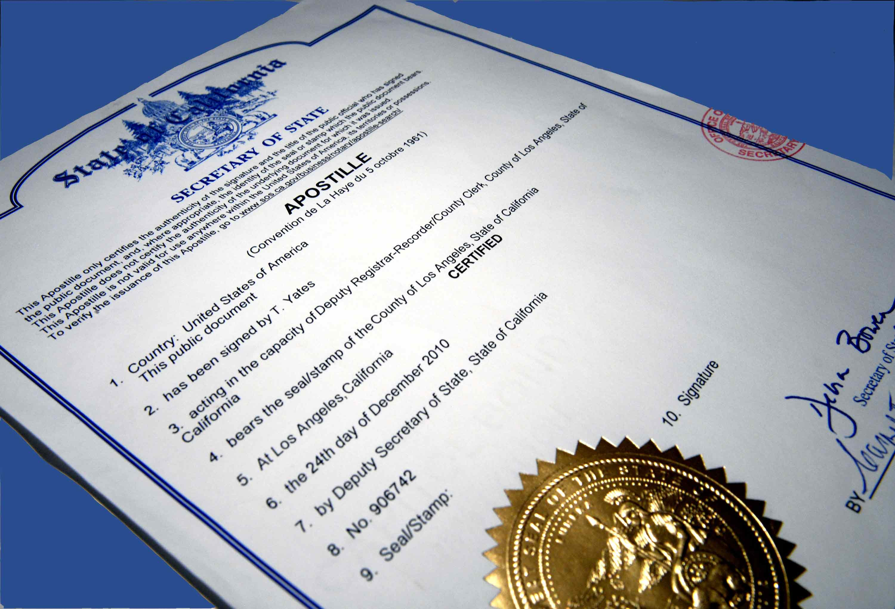 Apostille or certificate of authentication buffalo ny john apostille 1betcityfo Gallery